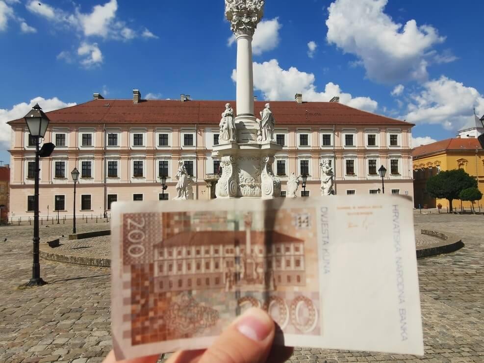 200 Kuna Geldschein