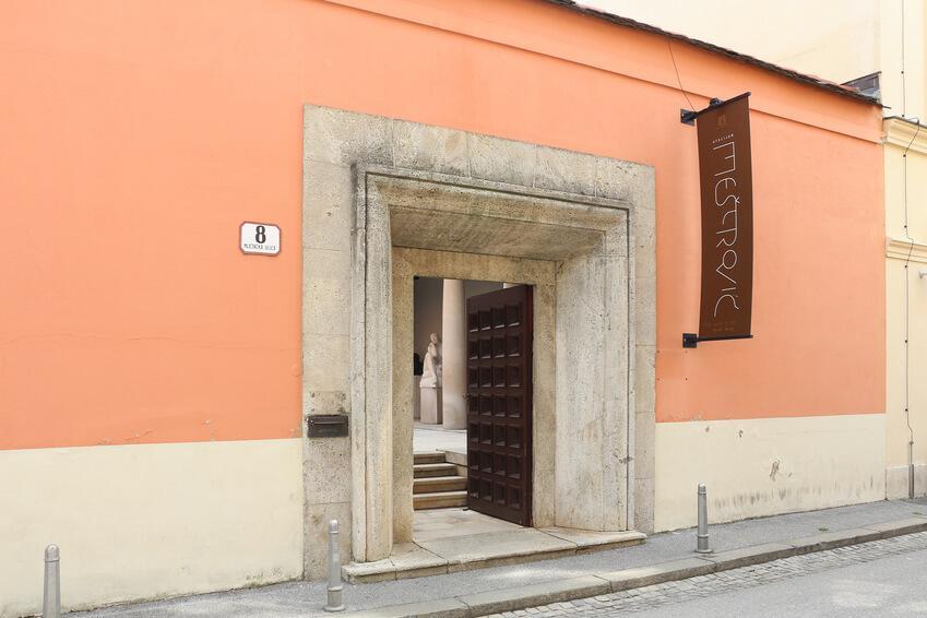 Das Ivan Meštrović Atelier in Zagreb.