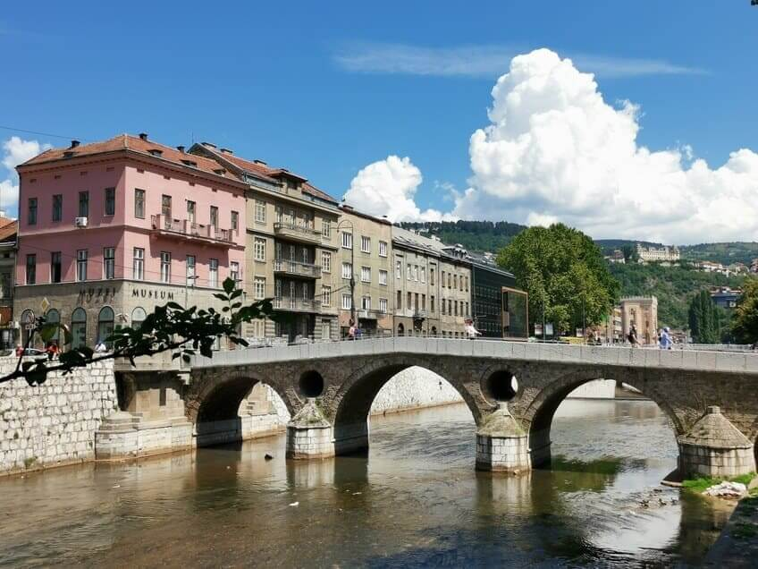Sarajevo Latainerbrücke
