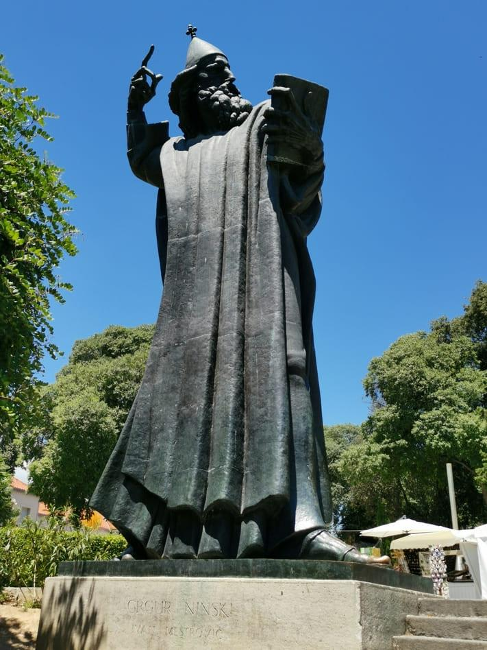 Ivan Meštrović Statue in Split