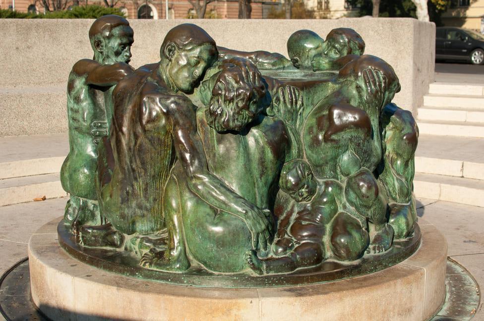 Ivan Meštrović Brunnen des Lebens