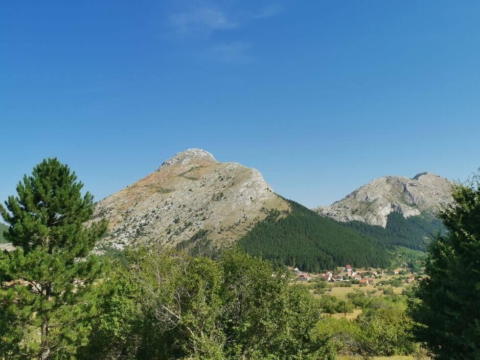 Montenegro Berge