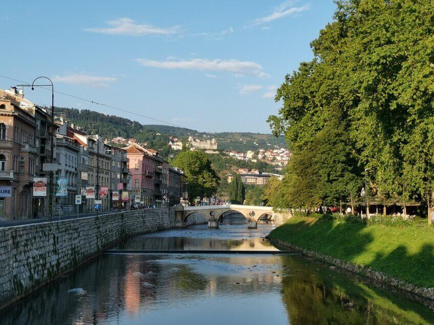 Sarajevo Miljacka