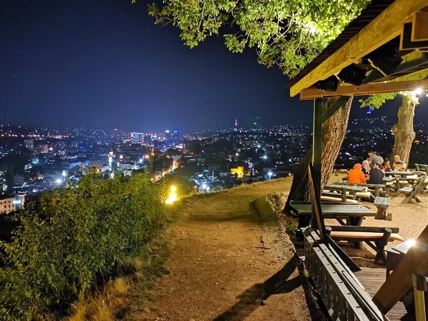Ausblick von der Gelben Festung in Sarajevo