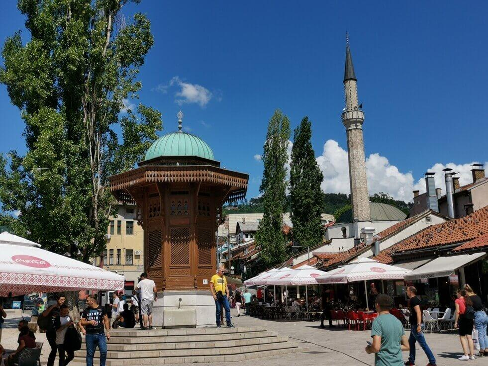 Sarajevo Baščaršija Sebilj