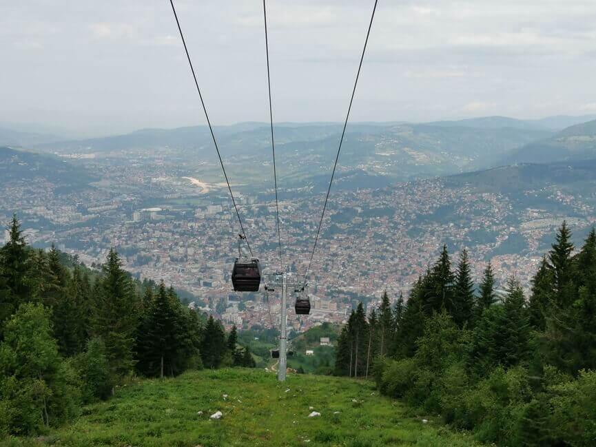 Die Seilbahn von Sarajevo
