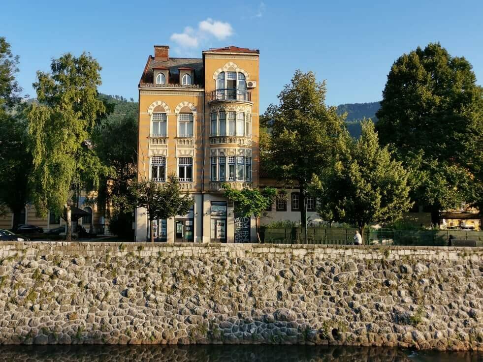 Sarajevo Gebäude