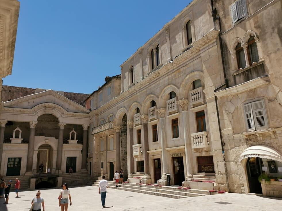 Split Sehenswürdigkeiten Diocletian Palace