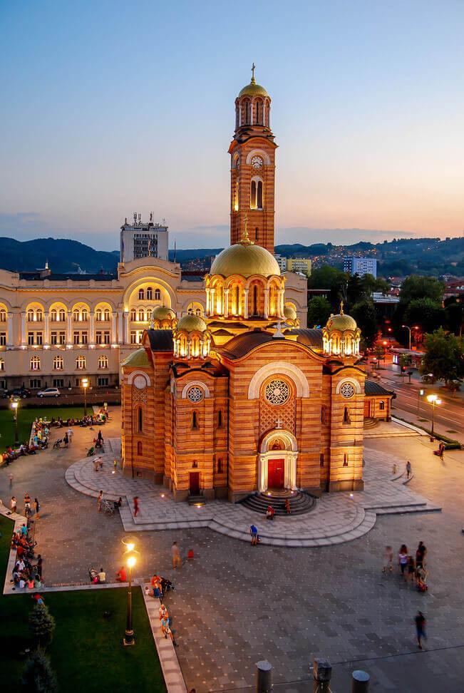 Banja Luka in Bosnien