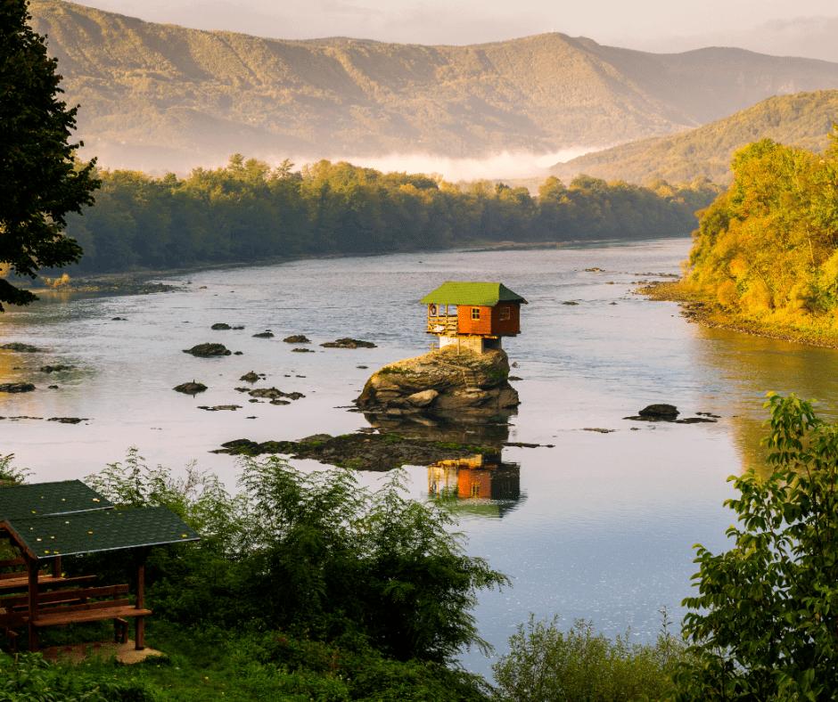 Bajina Basta Serbien