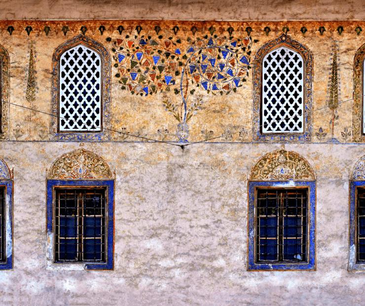 Die Bunte Moschee in Bosnien