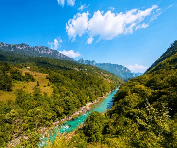 Landscape in Bosnien