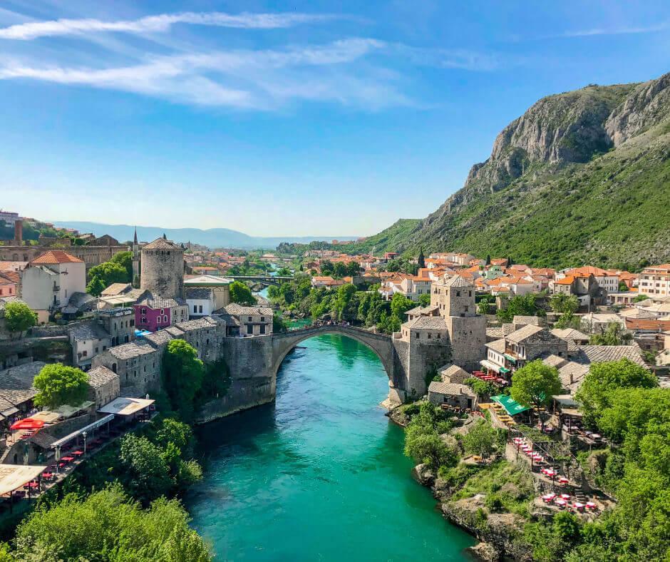 Wunderschöne Orte und Reiseziele in Bosnien