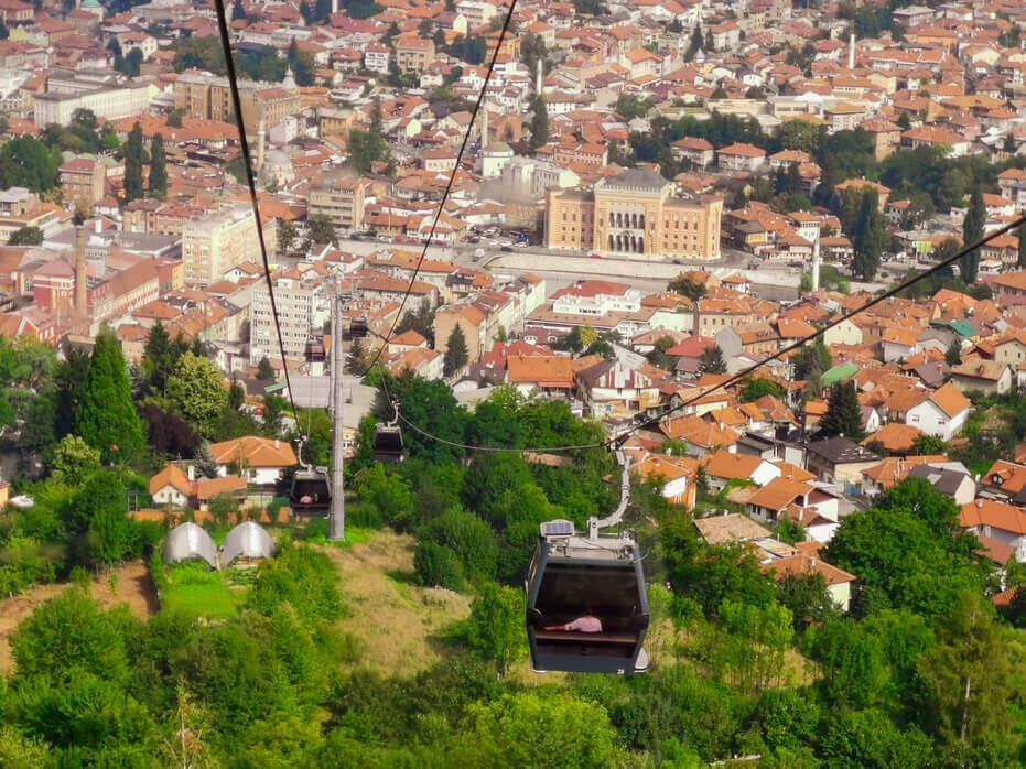 The Capital of Bosnia and Hercegovina