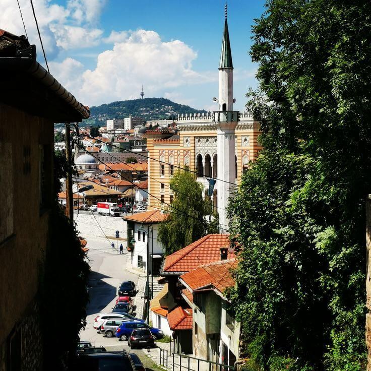 Schöne Orte und Reiseziele in Bosnien