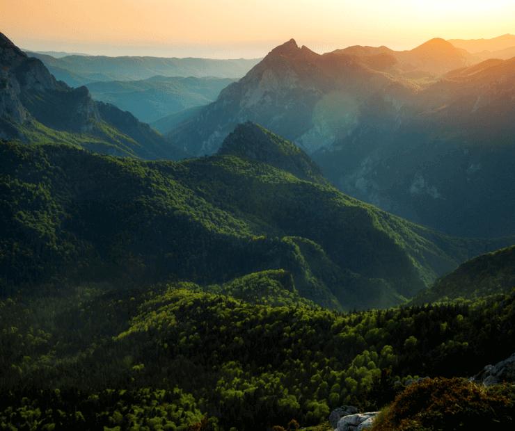 Sutjeska Nationalpark, Bosnien Reieseziele und Orte