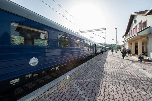 Tito Blue Train in Belgrade