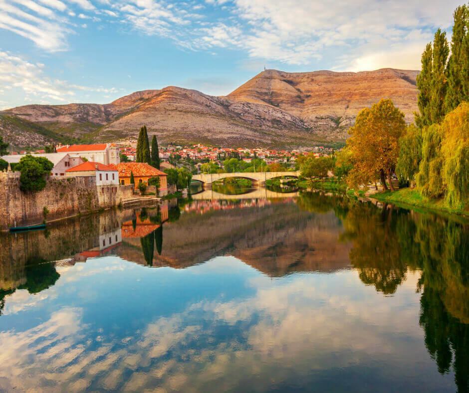 Trebinje, eine der schönsten Orte Bosniens