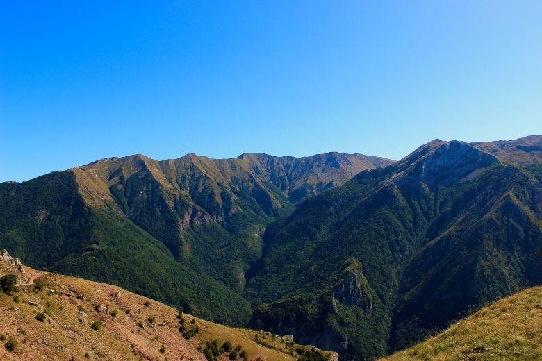 Bjelašnica Gebirge in Bosnien