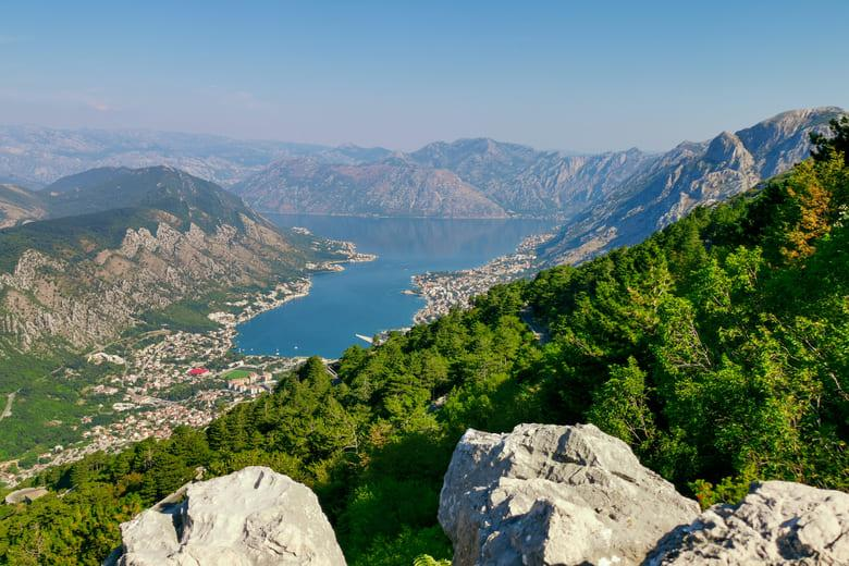 Der Lovcen Nationalpark in Montenegro