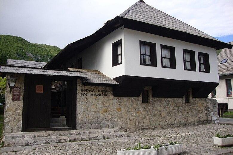Ivo Andric Geburtshaus und heutiges Museum in Travnik