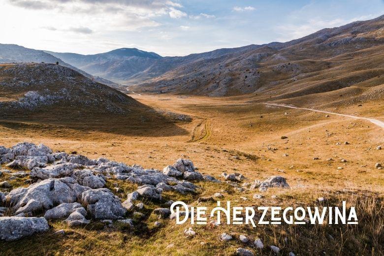 Landschaft in der Herzegowina