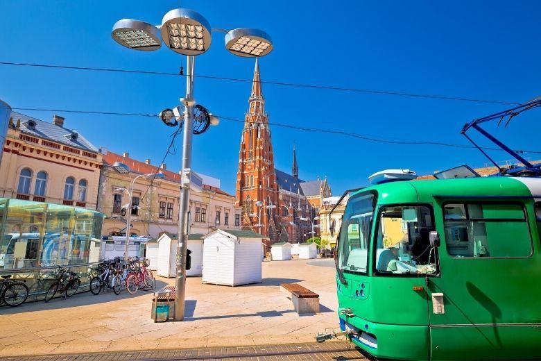 Slawonien Städte