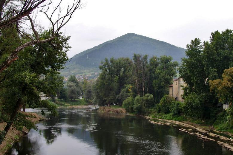 Die bosnischen Pyramiden in Visoko Bosnien und Herzegowina
