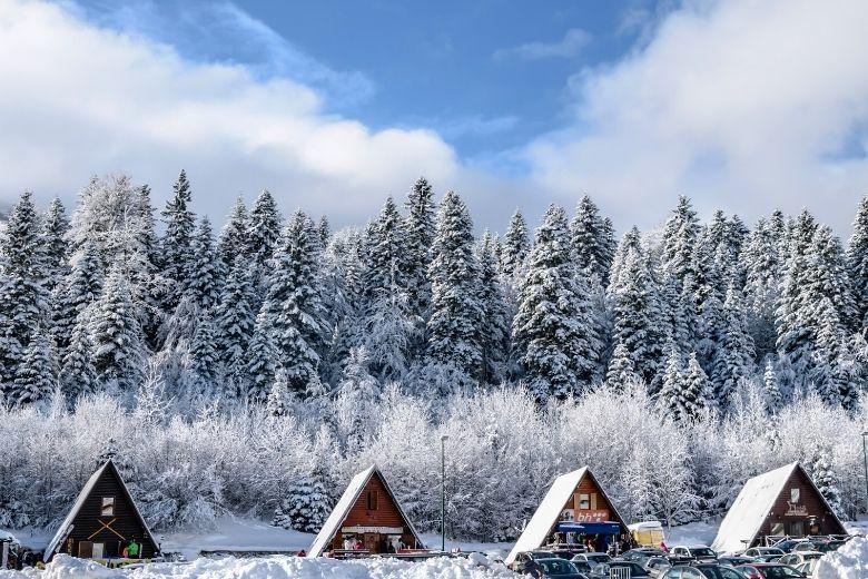 Skifahren in Bosnien