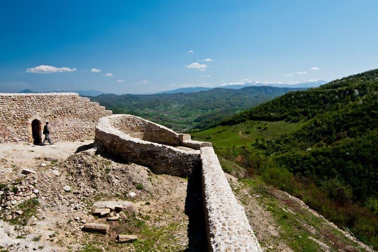 Die alte Festung in Visoko
