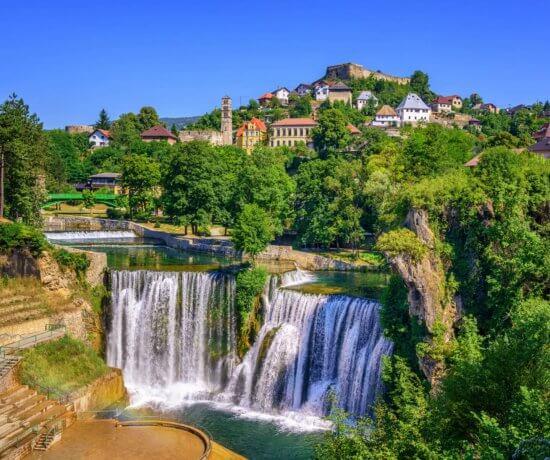 Schöne Städte in Bosnien